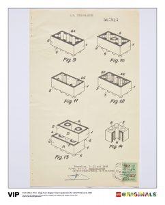 belgian patent lego 5005996 elements 1963