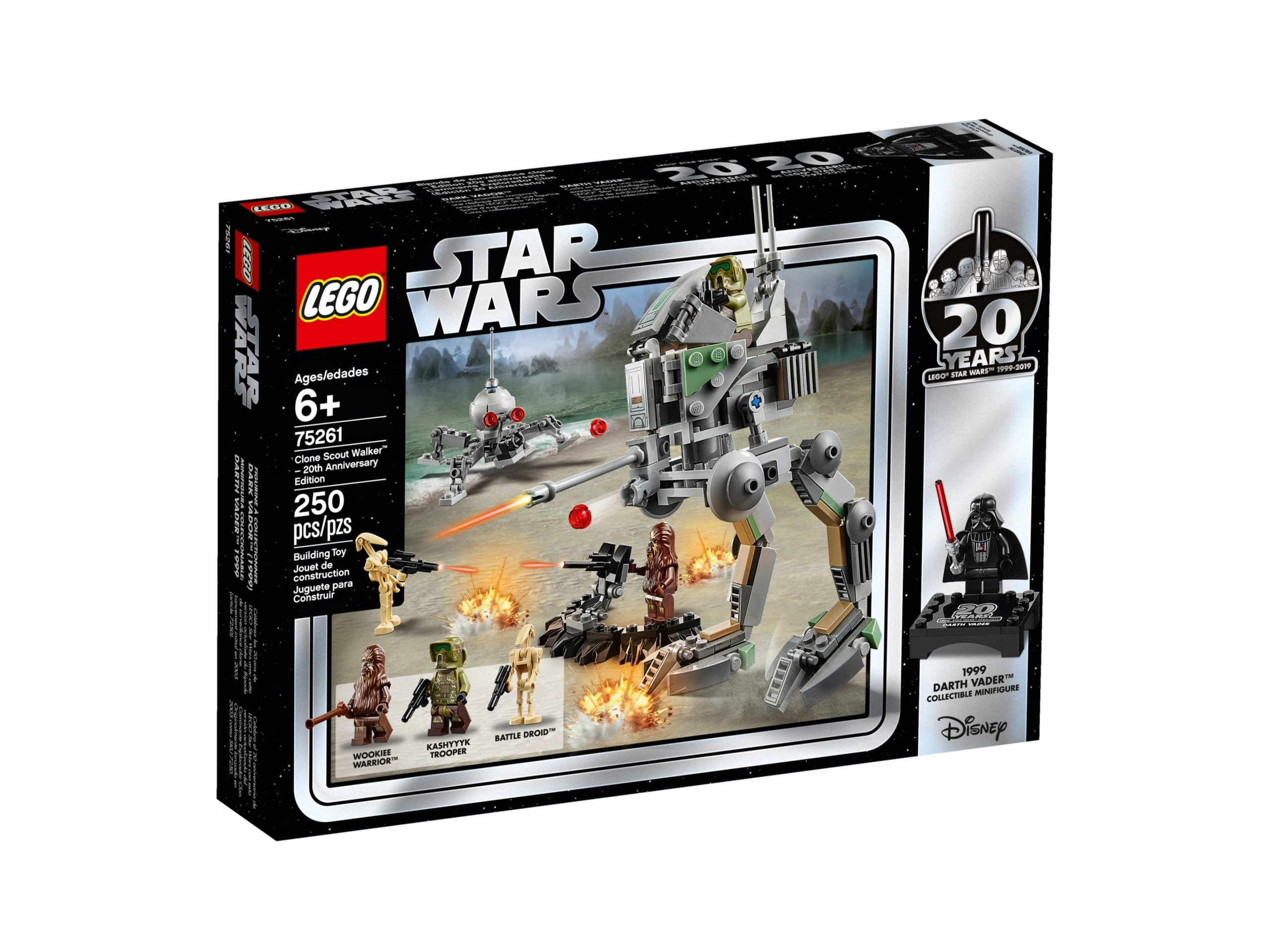 clone scout walker 20 jahre lego 75261 star wars scaled