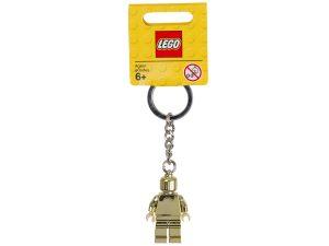 goldener lego 850807 minifigur schlusselanhanger