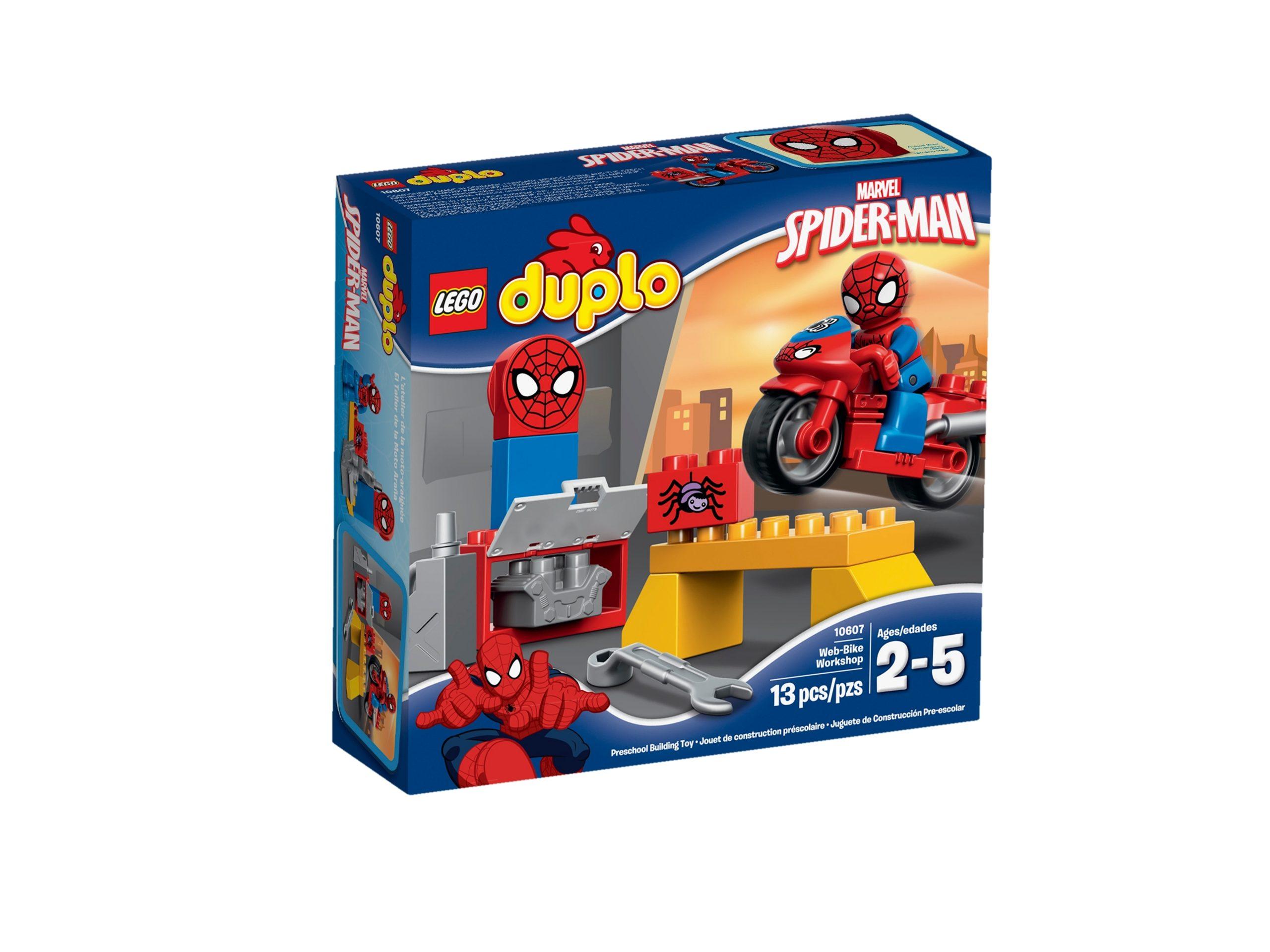 lego 10607 spider man motorrad werkstatt scaled
