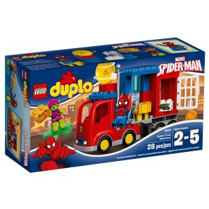 lego 10608 spider man spider truck abenteuer