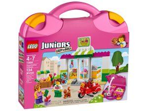 lego 10684 juniors supermarkt koffer