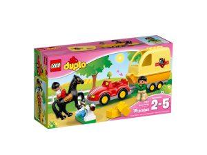 lego 10807 wagen mit pferdeanhanger