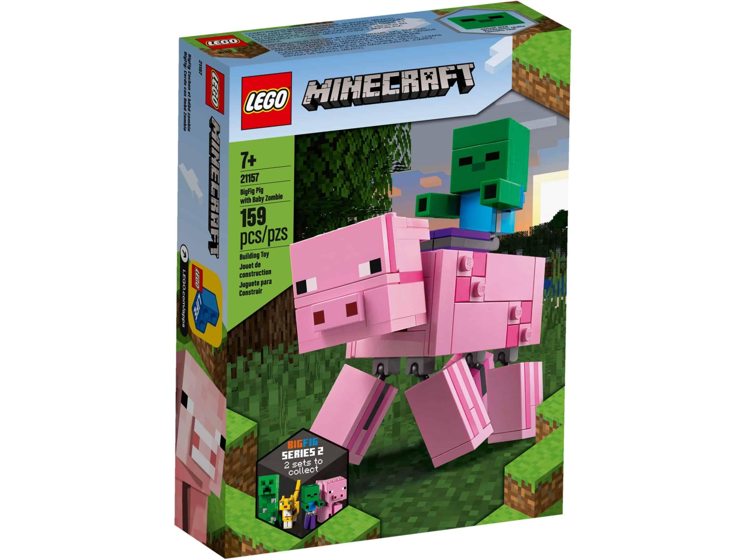 lego 21157 bigfig schwein mit zombiebaby scaled