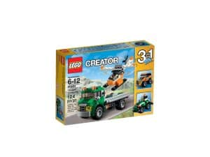 lego 31043 hubschrauber transporter