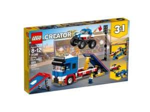 lego 31085 stunt truck transporter