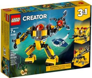 lego 31090 unterwasser roboter