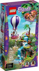 lego 41423 tiger rettung mit heisluftballon