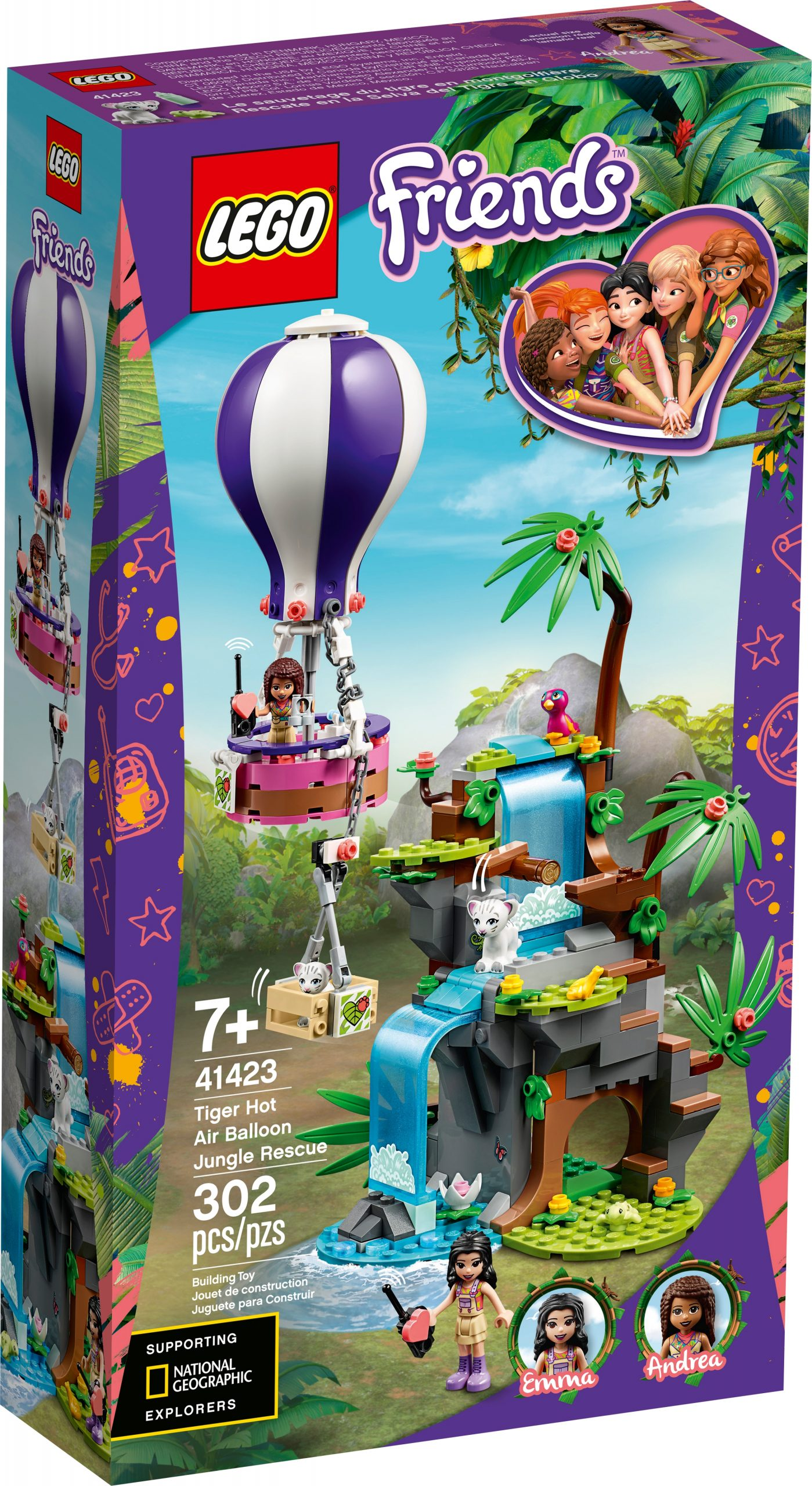 lego 41423 tiger rettung mit heisluftballon scaled