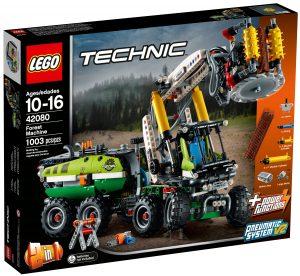lego 42080 harvester forstmaschine