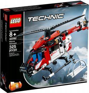 lego 42092 rettungshubschrauber