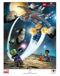 lego 5005877 captain marvel poster motiv 1 von 3