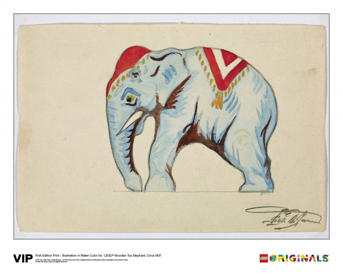 lego 5005997 illustration wooden toy elephant scaled