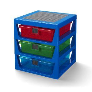 lego 5006179 regalsystem in transparentem blau