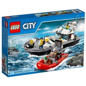 lego 60129 polizei patrouillen boot