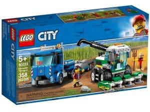 lego 60223 transporter fur mahdrescher