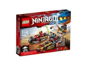 lego 70600 ninja bike jagd
