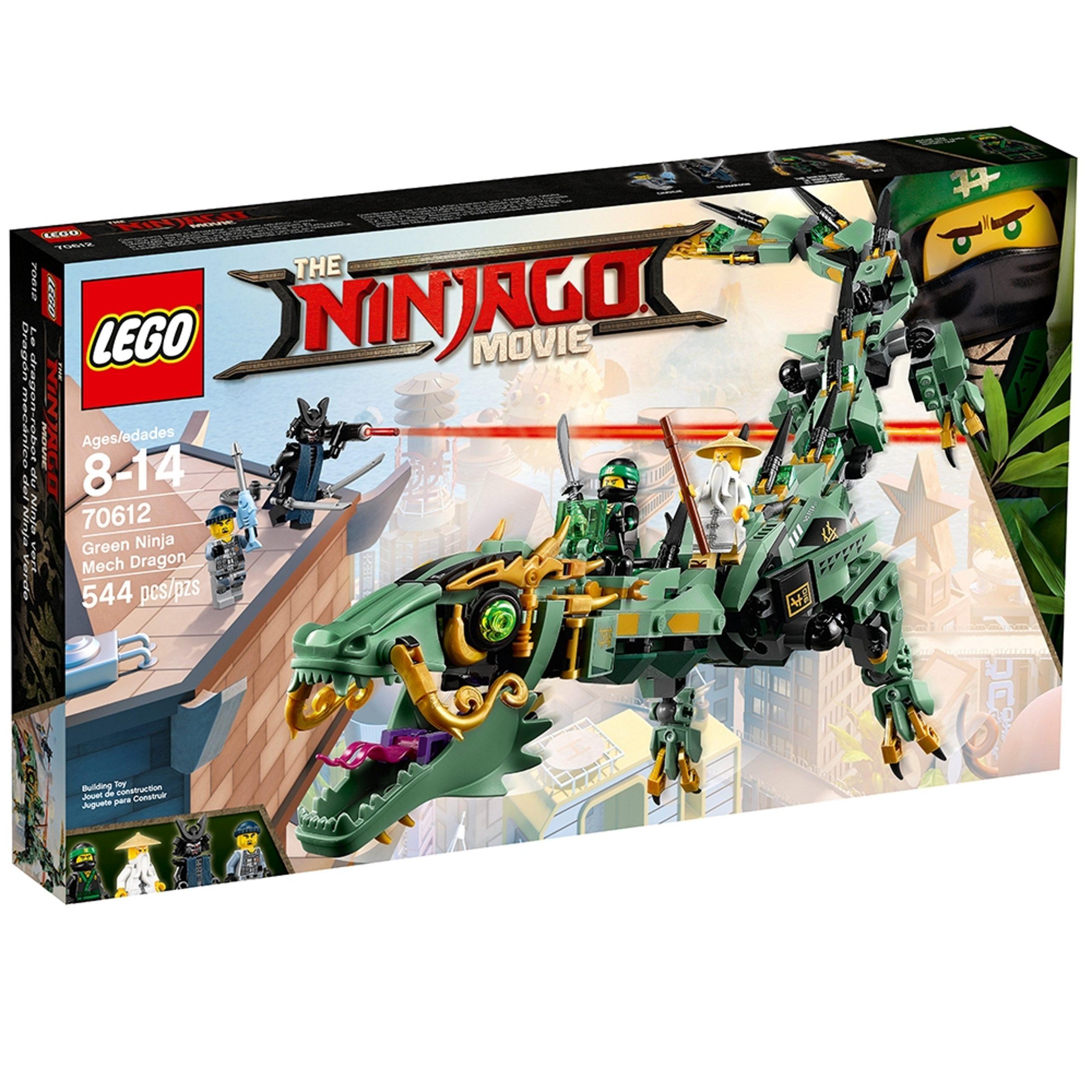 lego 70612 mech drache des grunen ninja scaled