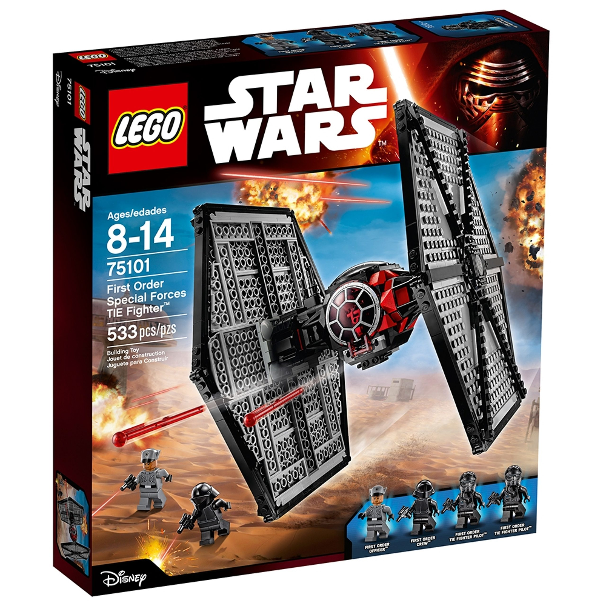 lego 75101 first order special forces tie fighter scaled