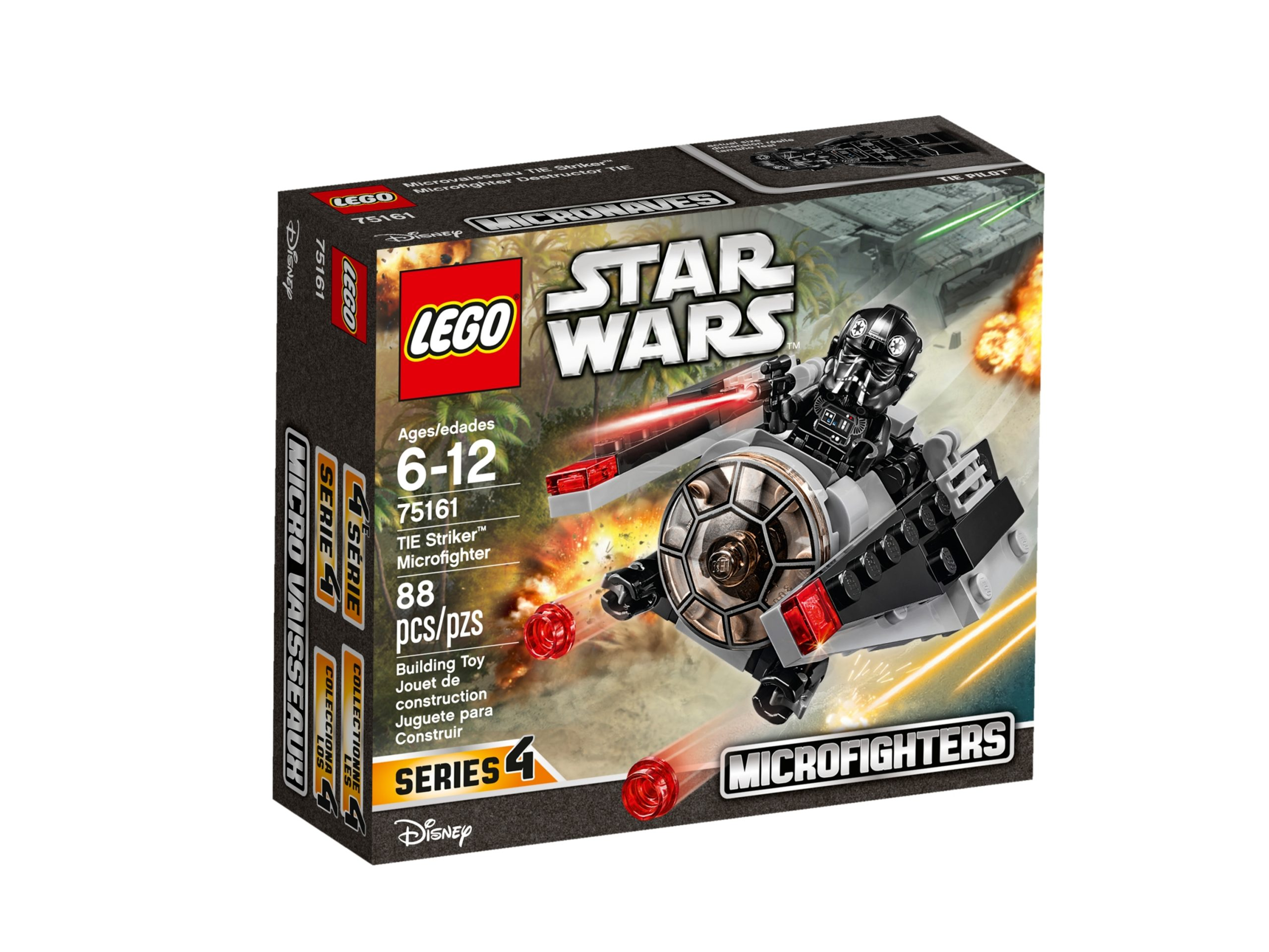 lego 75161 tie striker microfighter scaled
