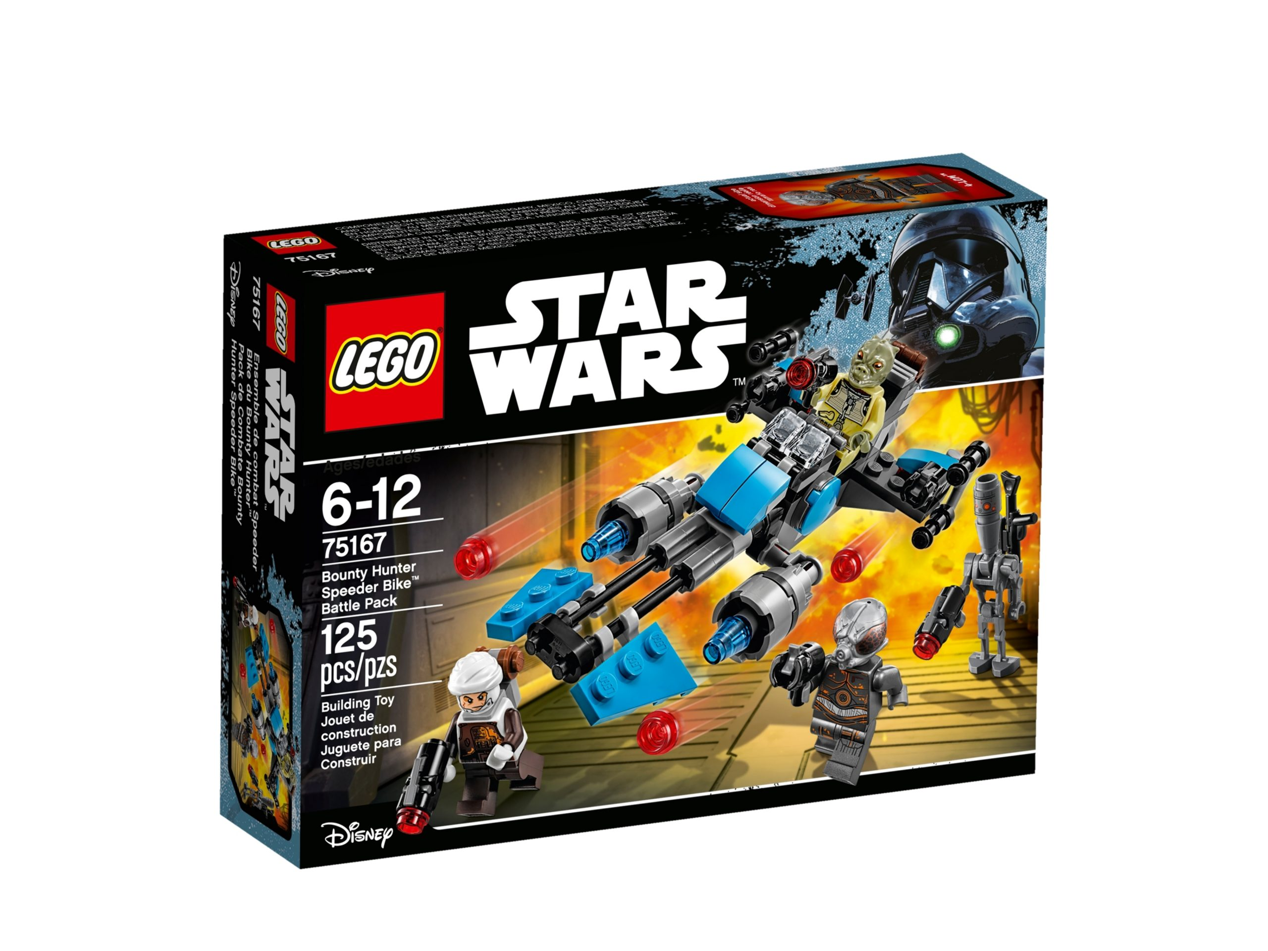 lego 75167 bounty hunter speeder bike battle pack scaled