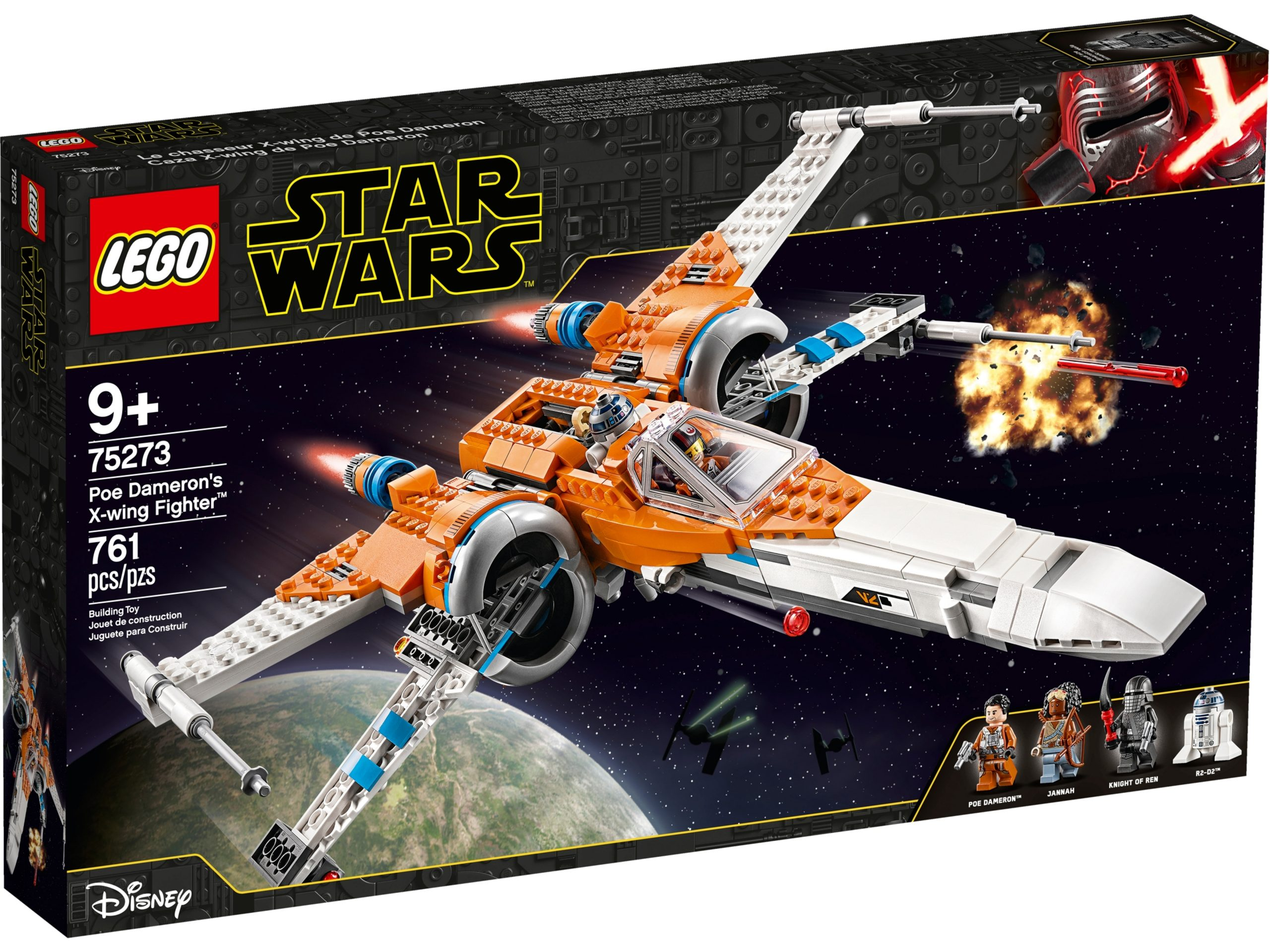 lego 75273 poe damerons x wing starfighter scaled