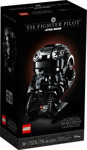 lego 75274 tie fighter pilot helm