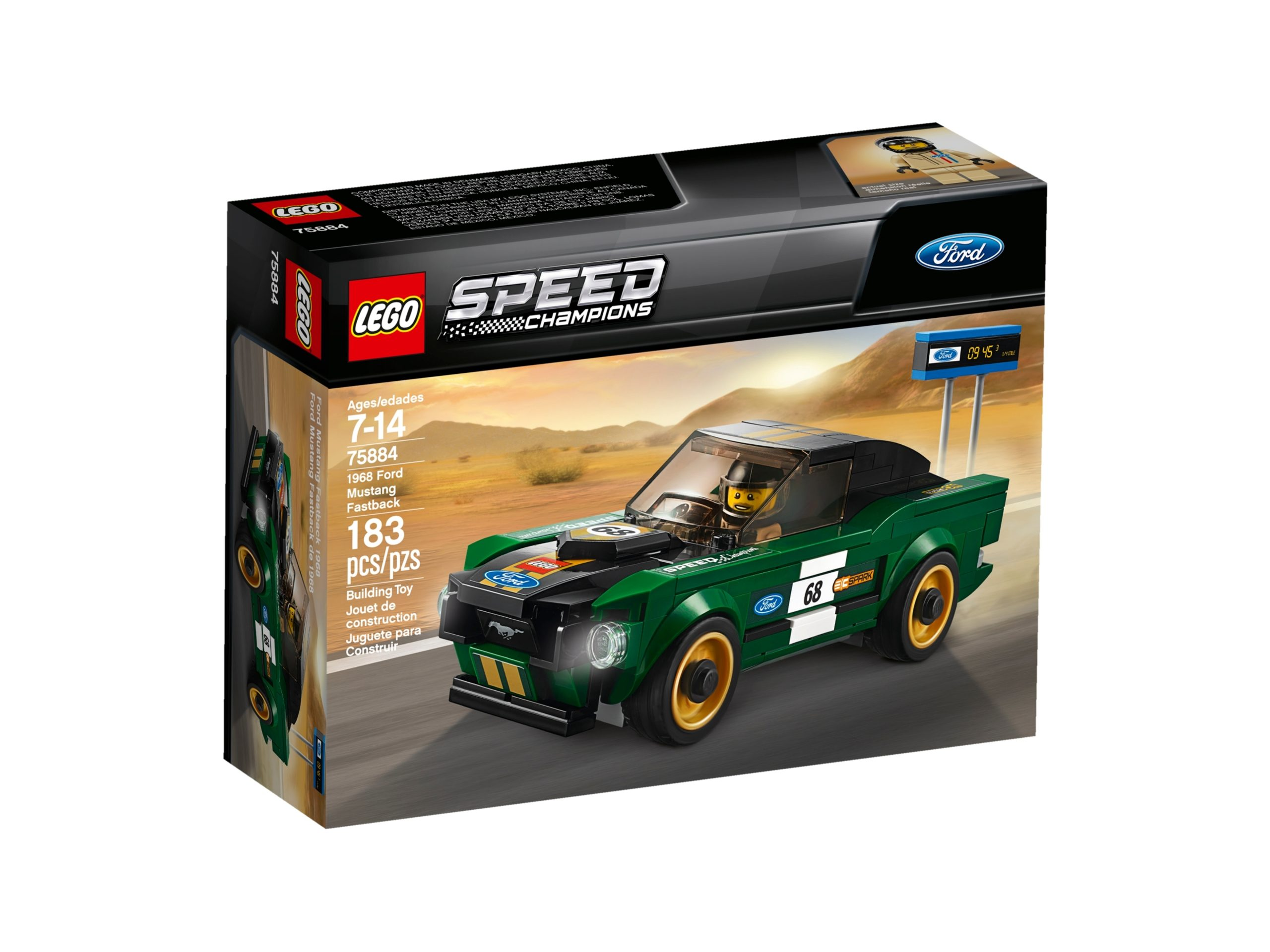 lego 75884 1968 ford mustang fastback scaled