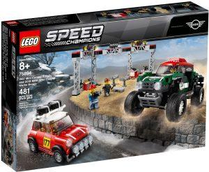 lego 75894 rallyeauto 1967 mini cooper s und buggy 2018 mini john cooper works