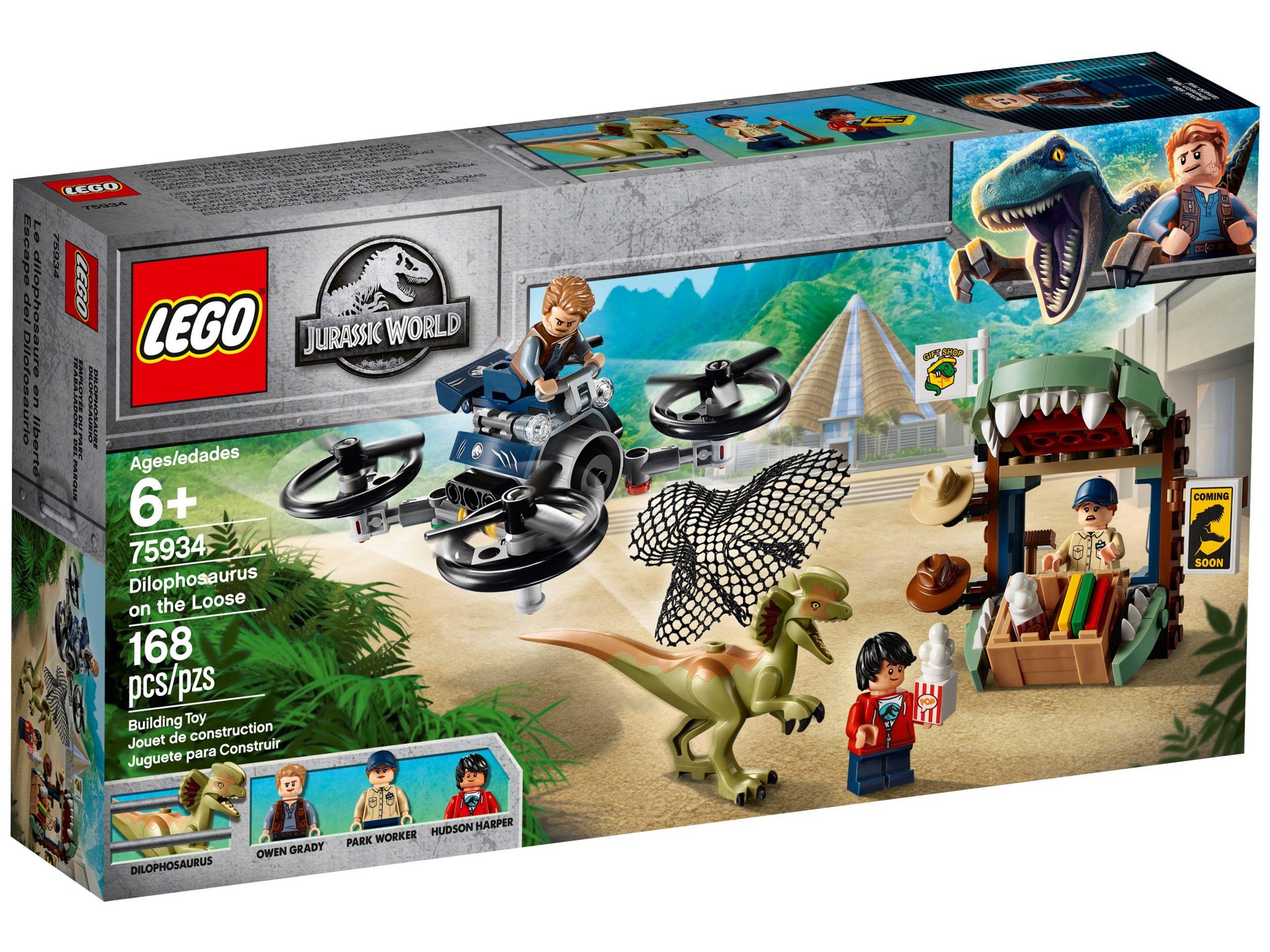 lego 75934 dilophosaurus auf der flucht scaled