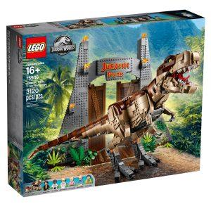 lego 75936 jurassic park t rex verwustung