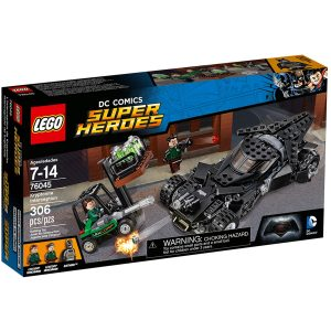 lego 76045 kryptonit mission im batmobil