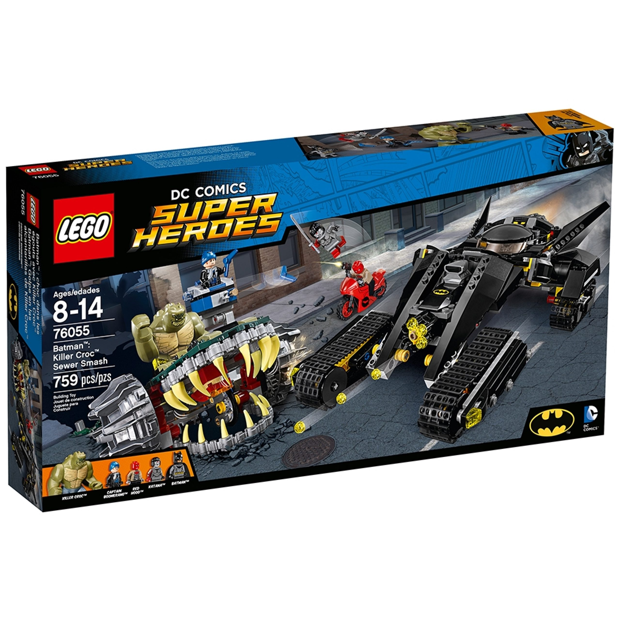lego 76055 batman killer crocs uberfall in der kanalisation scaled