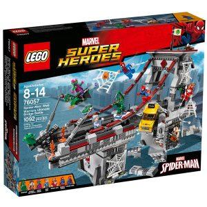 lego 76057 spider man ultimatives bruckenduell der web warriors