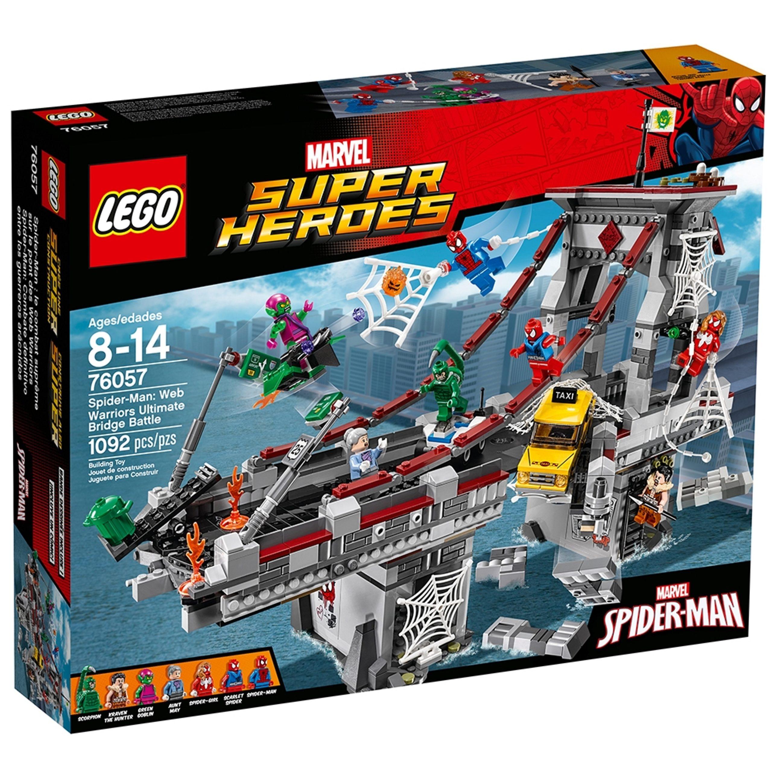 lego 76057 spider man ultimatives bruckenduell der web warriors scaled