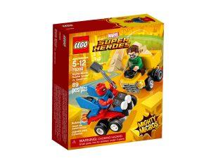 lego 76089 mighty micros scarlet spider vs sandman