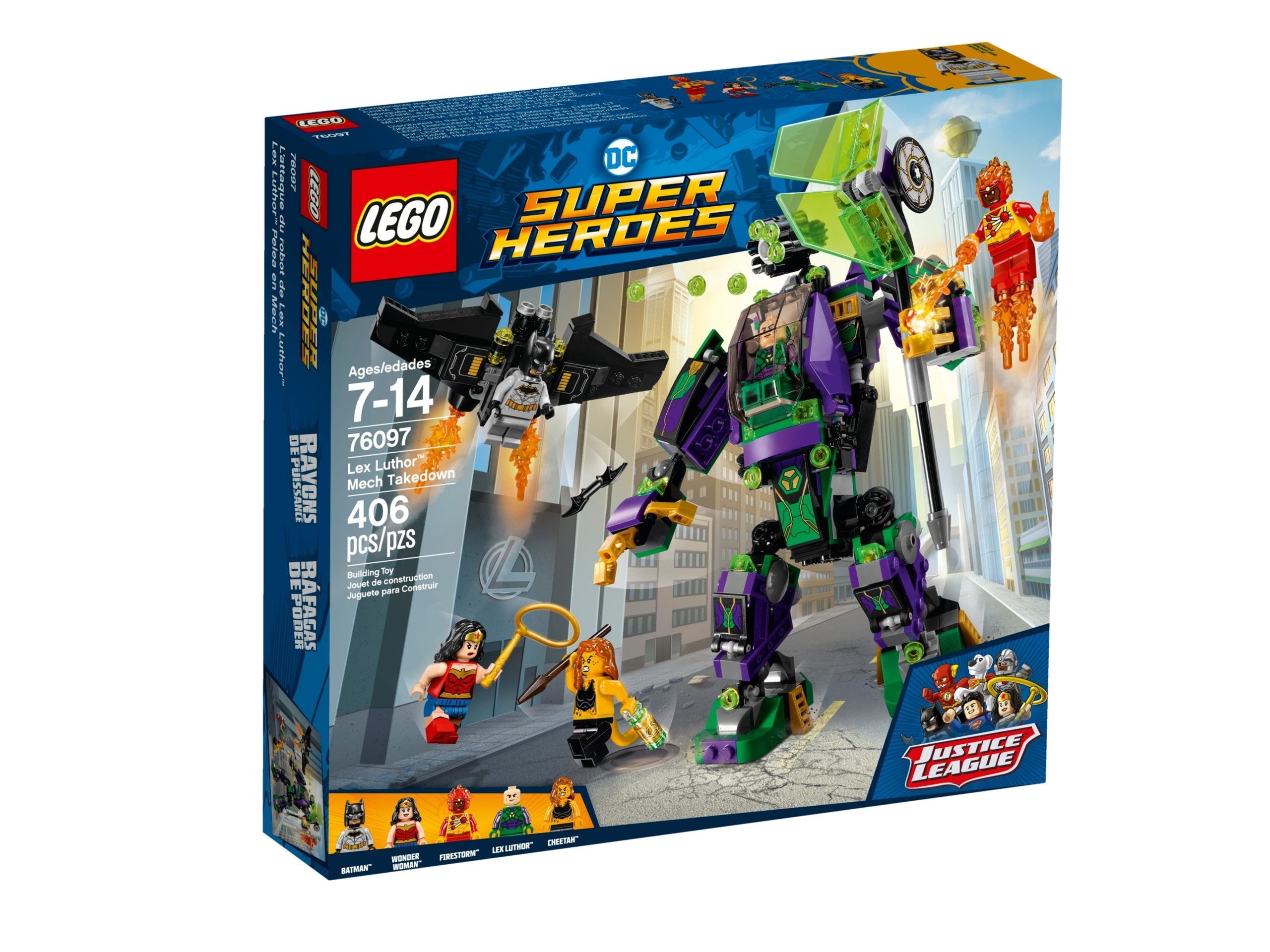 lego 76097 lex luthor mech scaled
