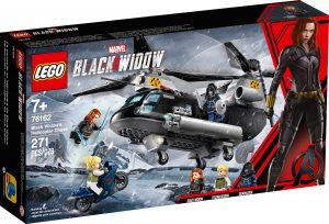 lego 76162 black widows hubschrauber verfolgungsjagd