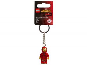 lego 853706 marvel super heroes invincible iron man schlusselanhanger