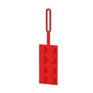 roter lego 5005542 2x4 stein gepackanhanger