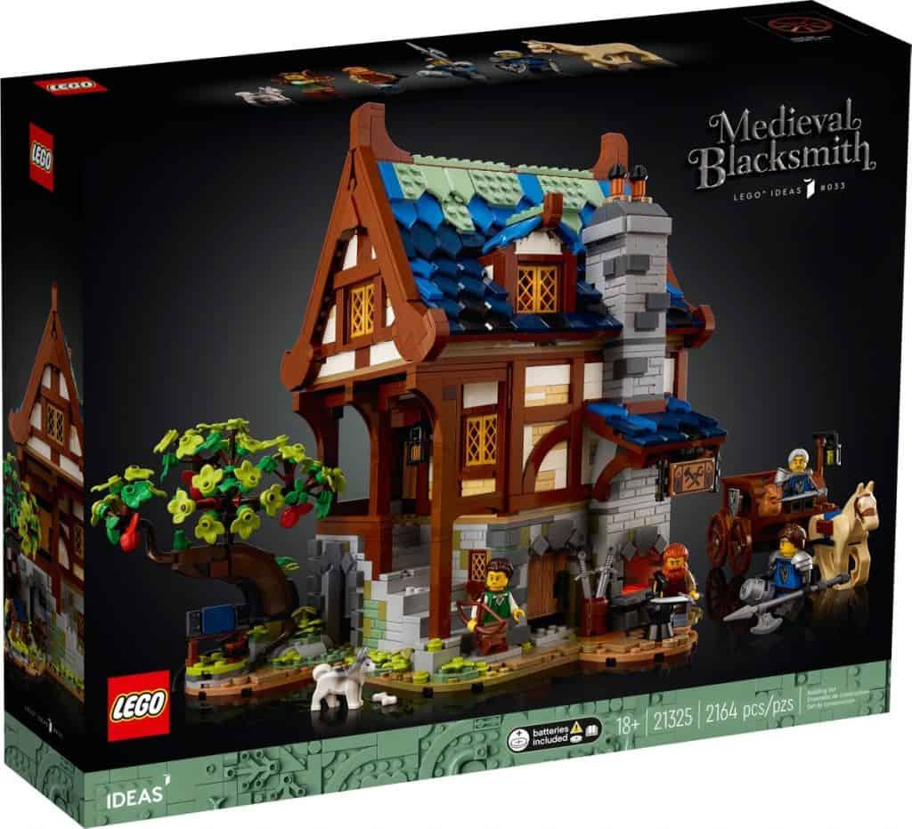 LEGO 21325 Mittelalterliche Schmiede