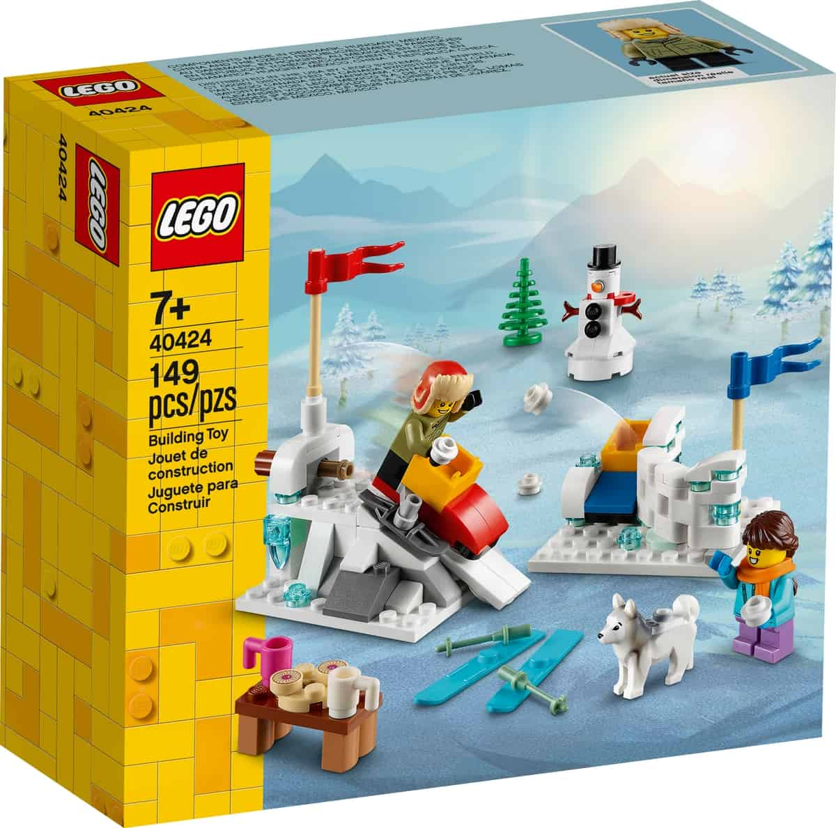 lego 40424 schneeballschlacht
