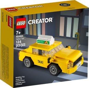 lego 40468 gelbes taxi