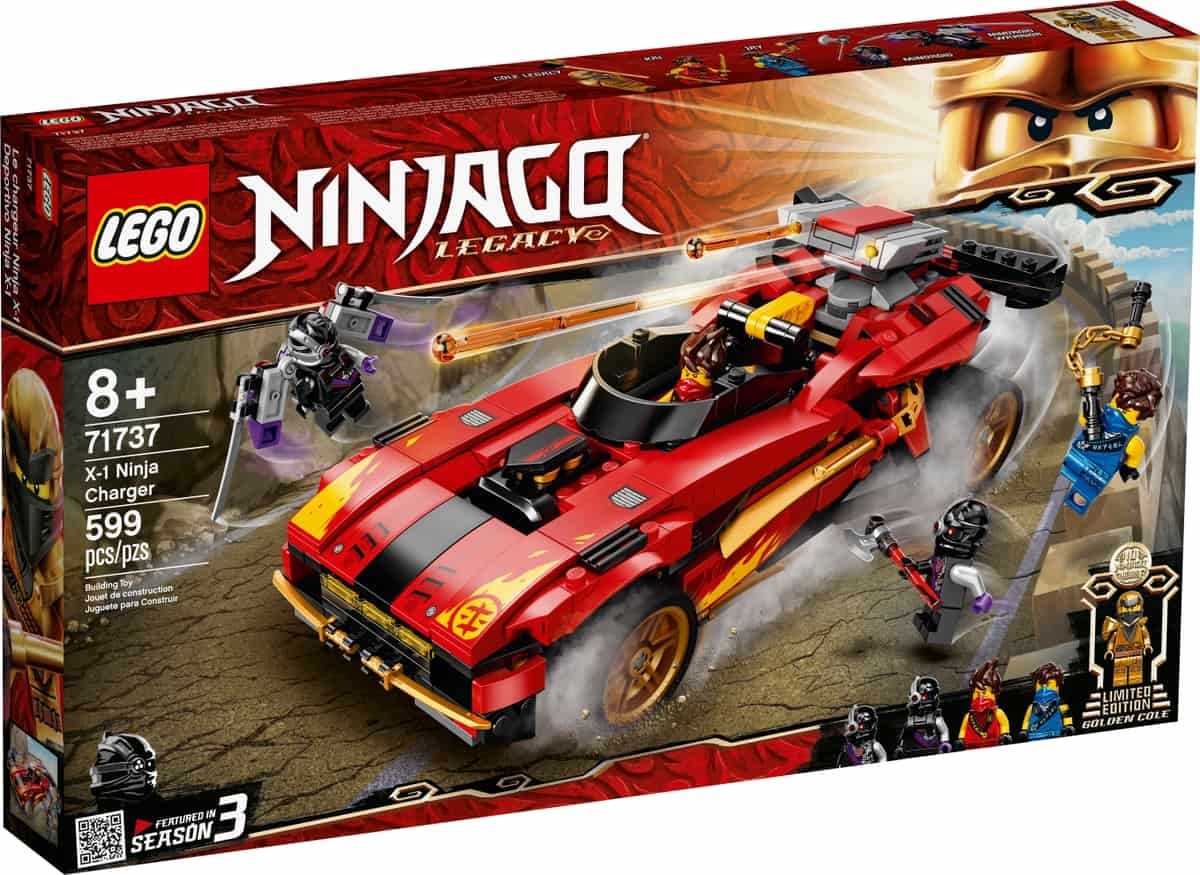 lego 71737 x 1 ninja supercar