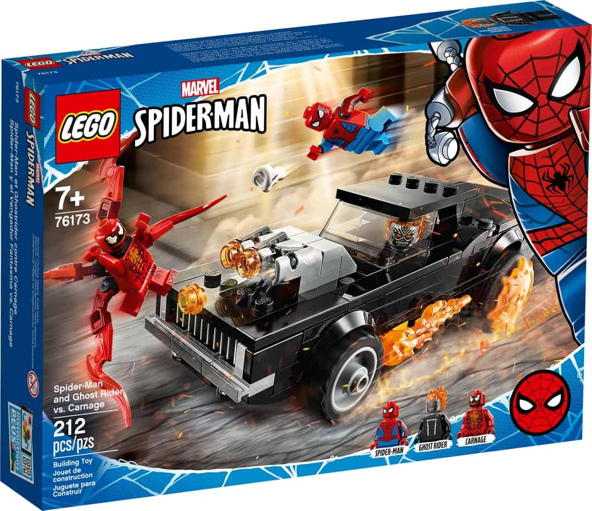 lego 76173 spider man und ghost rider vs carnage