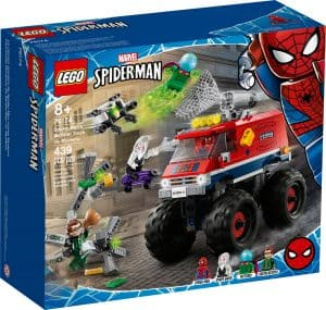 lego 76174 spider mans monstertruck vs mysterio