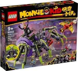 lego 80022 hauptquartier der spider queen