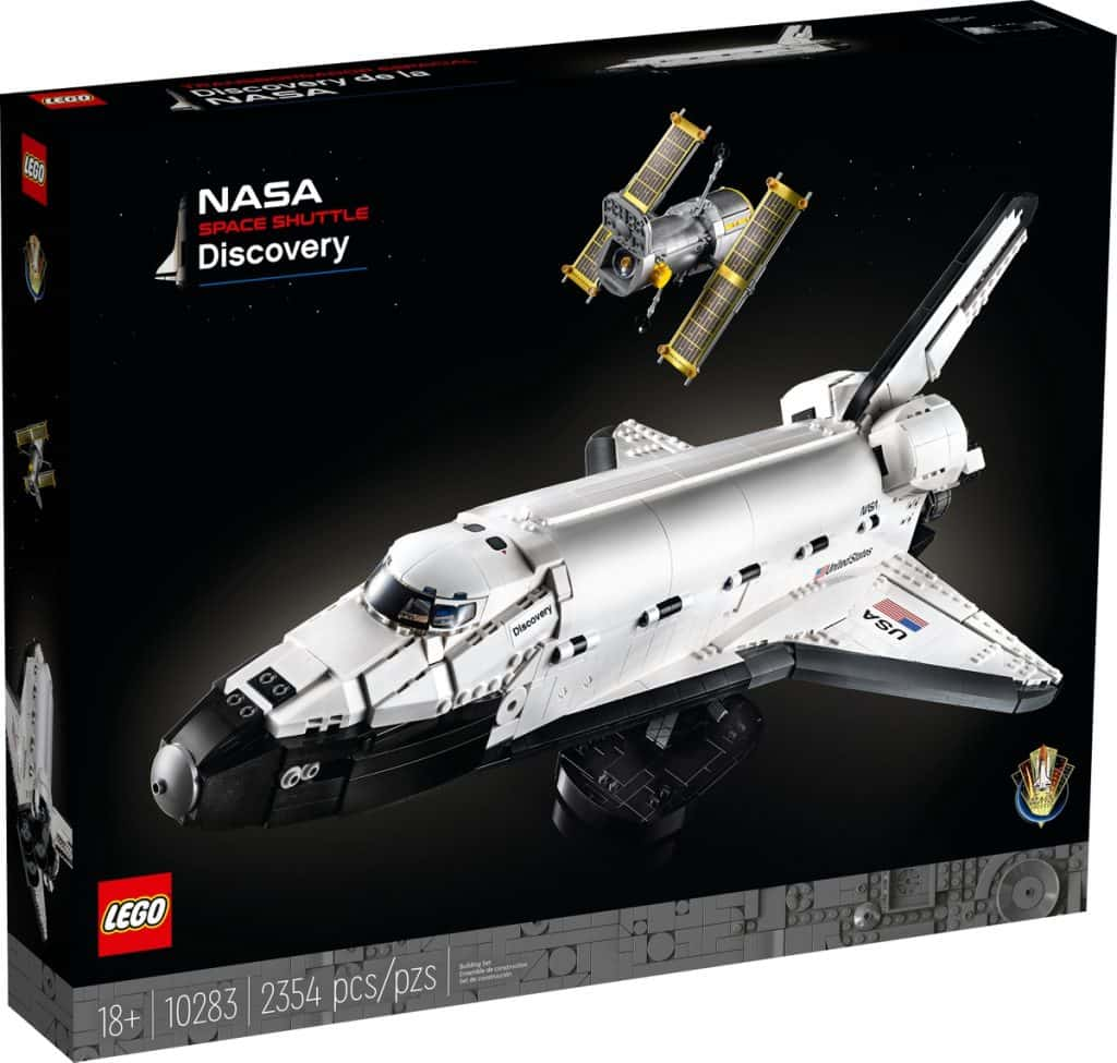 lego 10283 nasa spaceshuttle discovery