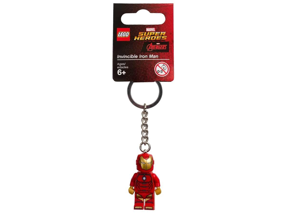 lego 853706 marvel super heroes invincible iron man schlusselanhanger
