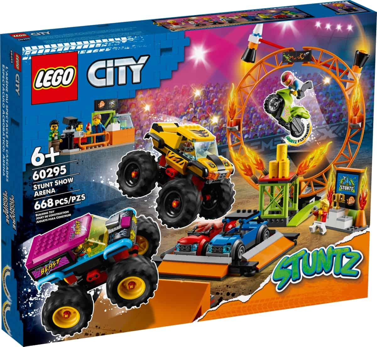 lego 60295 stuntshow arena